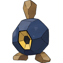Load image into Gallery viewer, Pokémon Dictionary Definition 0524 Roggenrola