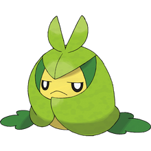 Load image into Gallery viewer, Pokémon Dictionary Definition 0541 Swadloon