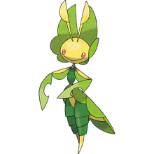 Load image into Gallery viewer, Pokémon Dictionary Definition 0542 Leavanny