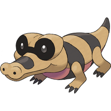 Load image into Gallery viewer, Pokémon Dictionary Definition 0551 Sandile