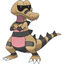 Load image into Gallery viewer, Pokémon Dictionary Definition 0552 Krokorok