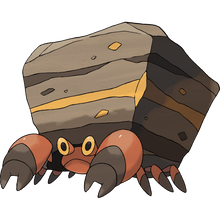Load image into Gallery viewer, Pokémon Dictionary Definition 0558 Crustle