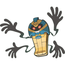 Load image into Gallery viewer, Pokémon Dictionary Definition 0563 Cofagrigus