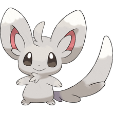 Load image into Gallery viewer, Pokémon Dictionary Definition 0572 Minccino
