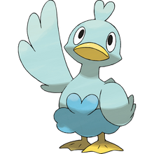 Load image into Gallery viewer, Pokémon Dictionary Definition 0580 Ducklett