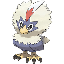 Load image into Gallery viewer, Pokémon Dictionary Definition 0627 Rufflet