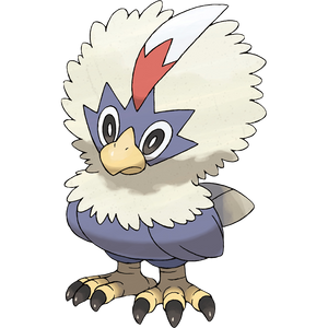 Pokémon Dictionary Definition 0627 Rufflet