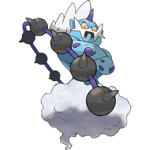 Load image into Gallery viewer, Pokémon Dictionary Definition 0642 Thundurus