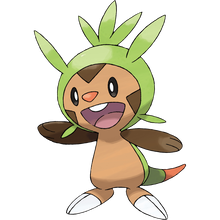 Load image into Gallery viewer, Pokémon Dictionary Definition 0650 Chespin