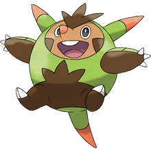 Load image into Gallery viewer, Pokémon Dictionary Definition 0651 Quilladin