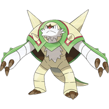 Load image into Gallery viewer, Pokémon Dictionary Definition 0652 Chesnaught