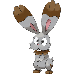 Pokémon Dictionary Definition 0659 Bunnelby