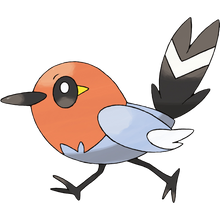 Load image into Gallery viewer, Pokémon Dictionary Definition 0661 Fletchling