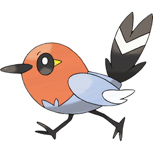 Pokémon Dictionary Definition 0661 Fletchling