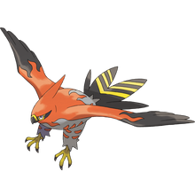 Load image into Gallery viewer, Pokémon Dictionary Definition 0663 Talonflame