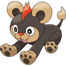 Load image into Gallery viewer, Pokémon Dictionary Definition 0667 Litleo