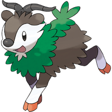 Load image into Gallery viewer, Pokémon Dictionary Definition 0672 Skiddo
