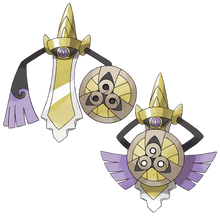 Load image into Gallery viewer, Pokémon Dictionary Definition 0681 Aegislash