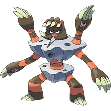 Load image into Gallery viewer, Pokémon Dictionary Definition 0689 Barbaracle