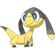 Load image into Gallery viewer, Pokémon Dictionary Definition 0694 Helioptile