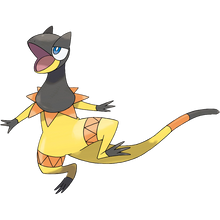 Load image into Gallery viewer, Pokémon Dictionary Definition 0695 Heliolisk