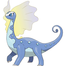 Load image into Gallery viewer, Pokémon Dictionary Definition 0699 Aurorus