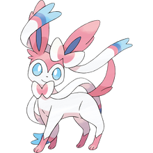 Load image into Gallery viewer, Pokémon Dictionary Definition 0700 Sylveon