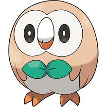 Load image into Gallery viewer, Pokémon Dictionary Definition 0722 Rowlet