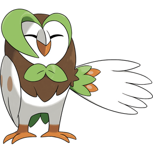 Pokémon Dictionary Definition 0723 Dartrix