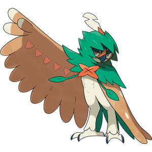 Pokémon Dictionary Definition 0724 Decidueye