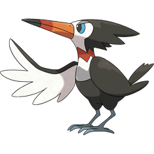 Load image into Gallery viewer, Pokémon Dictionary Definition 0732 Trumbeak