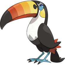 Load image into Gallery viewer, Pokémon Dictionary Definition 0733 Toucannon