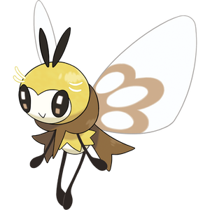 Pokémon Dictionary Definition 0743 Ribombee