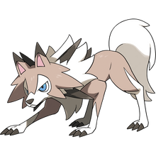 Load image into Gallery viewer, Pokémon Dictionary Definition 0745 Lycanroc