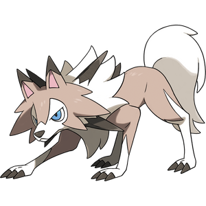 Pokémon Dictionary Definition 0745 Lycanroc