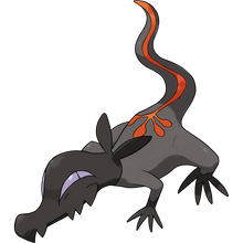 Load image into Gallery viewer, Pokémon Dictionary Definition 0757 Salandit