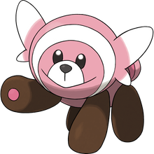 Load image into Gallery viewer, Pokémon Dictionary Definition 0759 Stufful