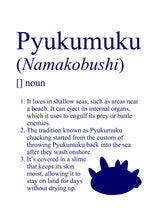 Load image into Gallery viewer, Pokémon Dictionary Definition 0771 Pyukumuku