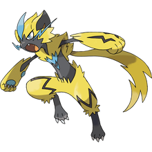 Load image into Gallery viewer, Pokémon Dictionary Definition 0807 Zeraora