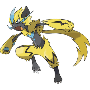 Pokémon Dictionary Definition 0807 Zeraora
