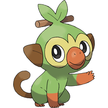 Load image into Gallery viewer, Pokémon Dictionary Definition 0810 Grookey