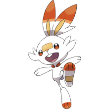 Load image into Gallery viewer, Pokémon Dictionary Definition 0813 Scorbunny