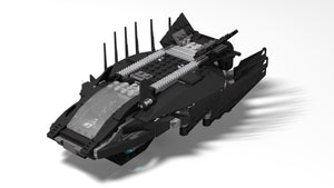 LEGO-Inspired Black Panther Royal Talon Fighter