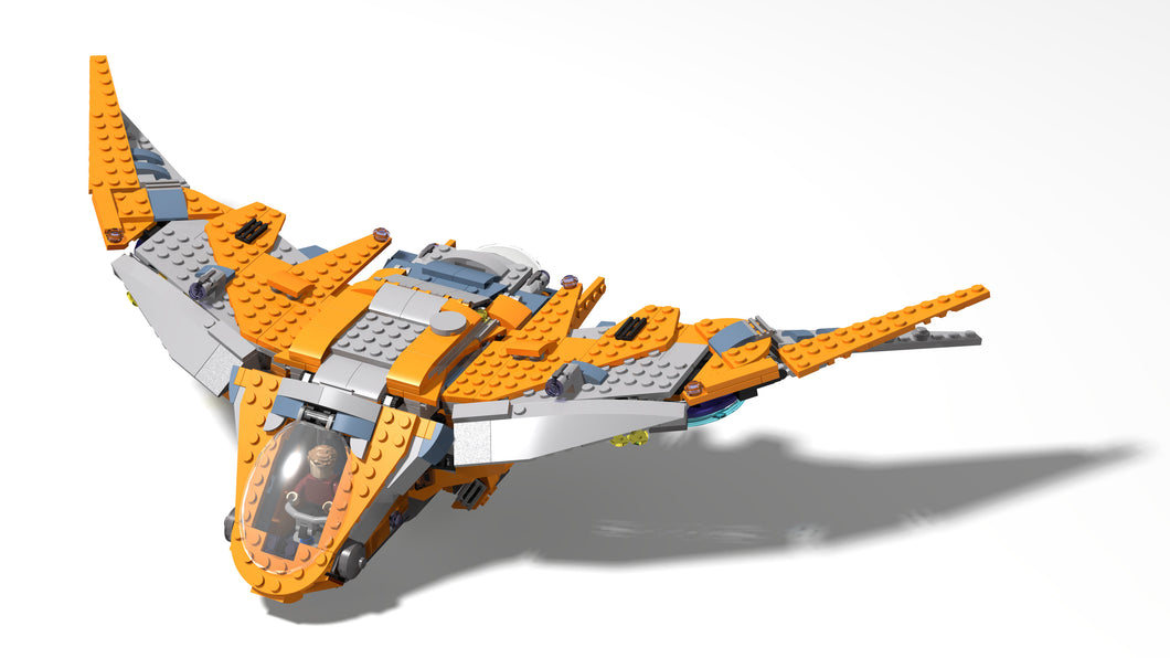 LEGO-Inspired Guardians of the Galaxy The Benatar