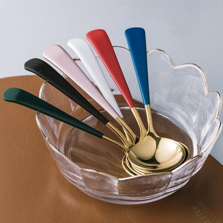 Mia | Spoon with Colored Handle