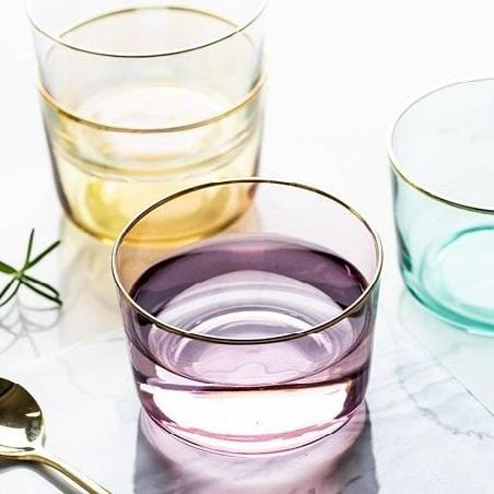 Naomi | Colored Glass Dessert Cup