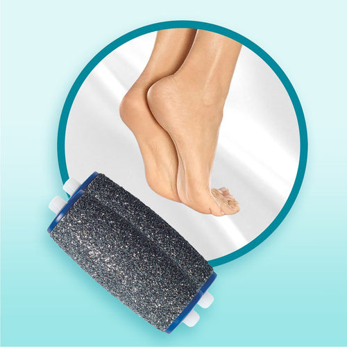 Amope Pedi Perfect Wet & Dry Rechargeable Foot File, Regular Coarse