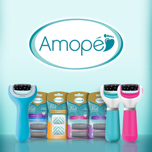 Amope Pedi Perfect Electronic Foot File Refills, Extra Coarse 2 ea (1 Pack)