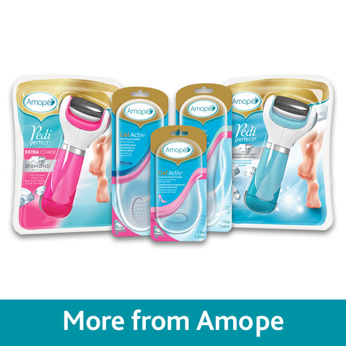 Amope Pedi Perfect foot file Diamond crystals Mixed refills