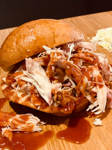 Smoked Pulled BBQ Chicken - 1lb Available Now!!  -for pick up Friday